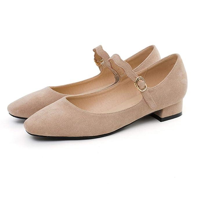 Zapatos Planos De Ballet Para Mujer Zapatos De Barco Zapatos De Vestir De Dama De Honor Mary Jane: Amazon.es: Ropa y accesorios