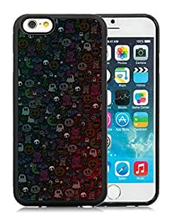 Popular Design Case Cover For Ipod Touch 4 Halloween Monsters Black Hard Case 1