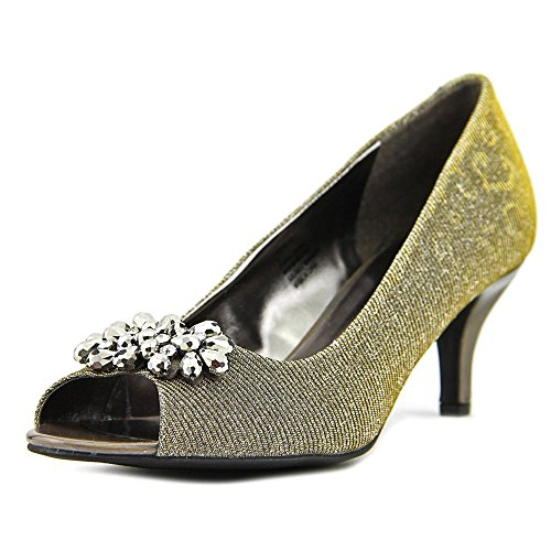 Maralyn Toe Scott W Gold Dark Peep Heels Karen Hqa55