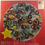 500 Piece Round Jigsaw Puzzle - Beetles & Bugs by Janeen Mason