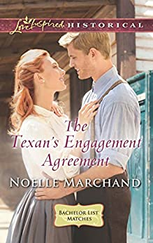 Mills & Boon : The Texan's Engagement Agreement (Bachelor List Matches) by [Marchand, Noelle]
