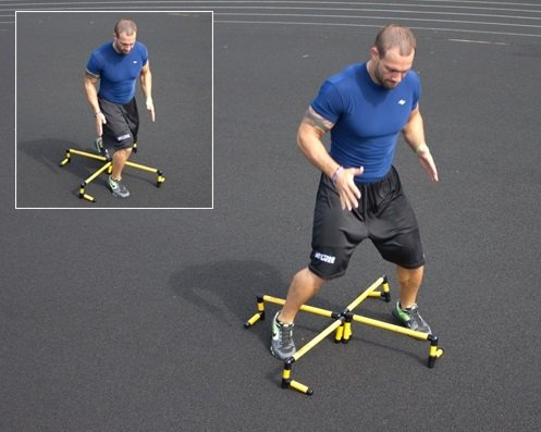 "Prism Fitness Group SMART Hurdles 6"" Set of 6"