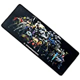 HanTop Gaming Mouse Pad-Stitched Edges Extended Fast Mouse Pad 31.5Lx11.8Wx0.12H(MM107)