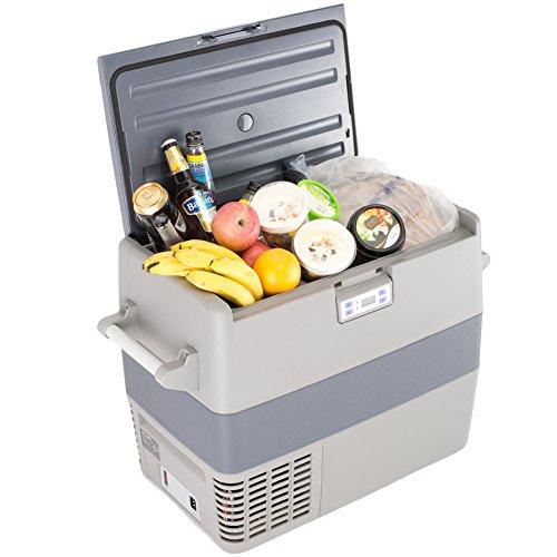 SMAD 49L Portable Fridge and Freezer Outdoor Compressor Refrigerator,12V/110V