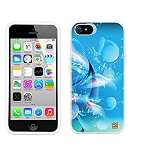 Iphone 5C/ IPhone 5C Lite (T-mobile,AT&T,Verizon,Sprint,International)Beyond Cell ?Premium Protection Slim Light Weight 2 piece Snap On Non-Slip Matte Hard Shell Rubber Coated Rubberized Phone Case Cover With Design - Blue Galaxy Design - Retail Packaging