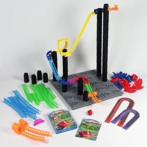 Think Fun Roller Coaster Challenge STEM Toy and Building Game for Boys and Girls Age 6 and Up – Toty Game of The Year Finalist