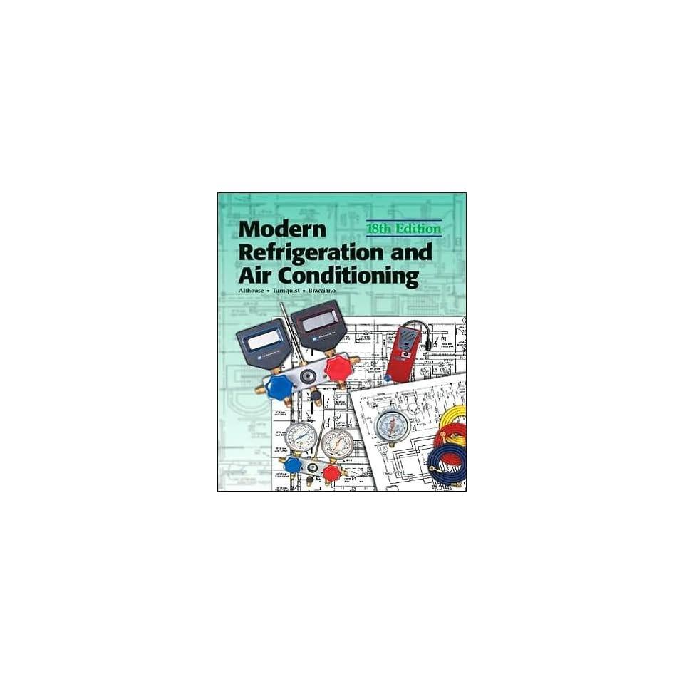 Modern Refrigeration & Air Conditioning 18th Edition