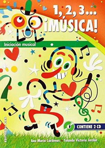 Descargar Libro 1,2,3... ¡música! Ana María Cardenas Lafuente