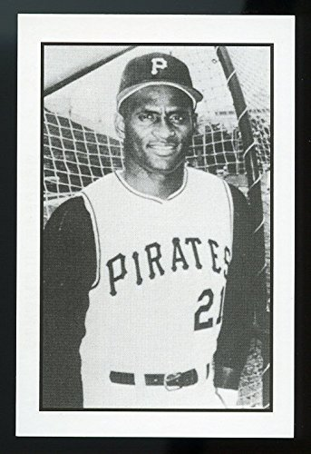 (1984 Gallaso Baseball Collector Series #1 Roberto Clemente Pittsburgh Pirates - Mint Condition Ships in New Holder)