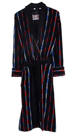 1276b0d2df Bown of London Men s Luxury Egyptian Cotton Velour Bathrobe  Amazon ...