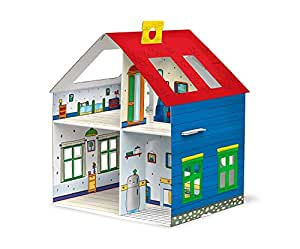 Caillou Buildable Card House