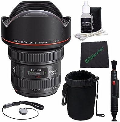 Canon EF 11 - 24 mm f/4L USM Lente + Funda para Objetivo réflex + ...