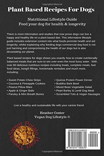 Amazon plant based recipes for dogs nutritional lifestyle amazon plant based recipes for dogs nutritional lifestyle guide feed your dog for health longevity vegan dog lifestyle volume 1 forumfinder Gallery