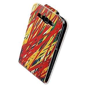 GX Teléfono Móvil Samsung - Carcasas de Cuerpo Completo - Gráfico/Diseño Especial - para Samsung S3 I9300 ( Multi-color , Cuero PU )