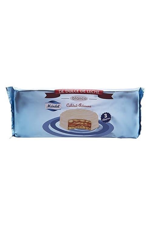 3 x Chocolate Alfajores blanco Mardel (dulce de leche sándwiches para galletas)