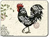 Jason Damask Rooster S/4 Placemats