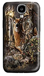 Find 9 Deer Custom Samsung Galaxy I9500/Samsung Galaxy S4 Case Cover Polycarbonate 3D