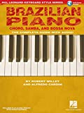 Brazilian Piano Choro Samba And Bossa Nova Hal Leonard Keyboard Style Series