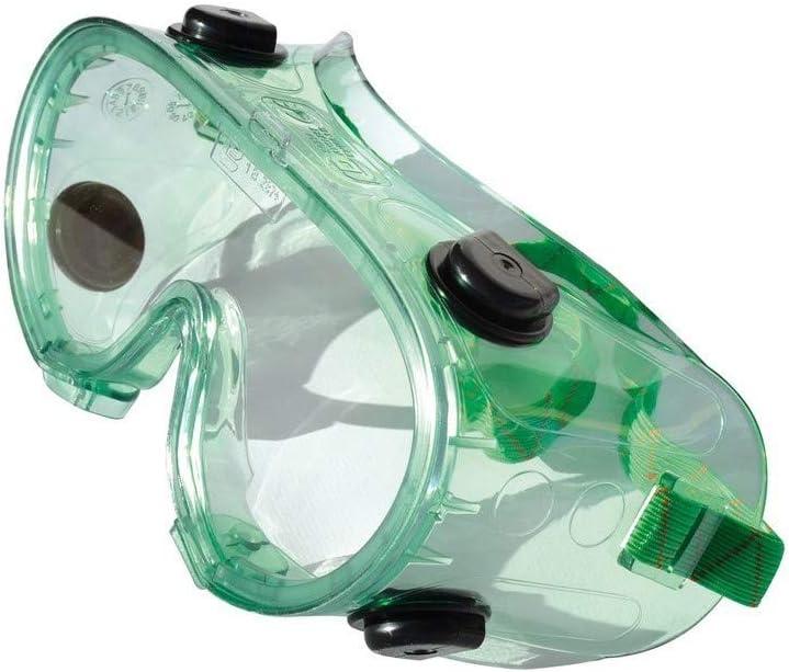 Ferko F-142400 - Gafa máscara panorámica con válvula de ventilación