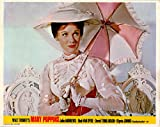 MARY POPPINS ORIGINAL BRITISH LOBBY CARD JULIE ANDREWS RARE WALT DISNEY 1964