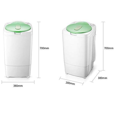 MU Lavadora doméstica Mini hogar Deshidratador de Barril Simple ...