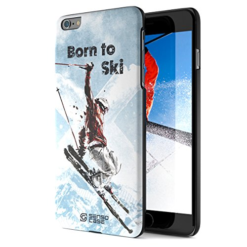 SENSOCASE iPhone 6 Plus Cases or Covers – Skiing Cases for iPhone...
