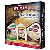granite cleaner and sealer - Weiman Granite and Stone Complete Care Kit