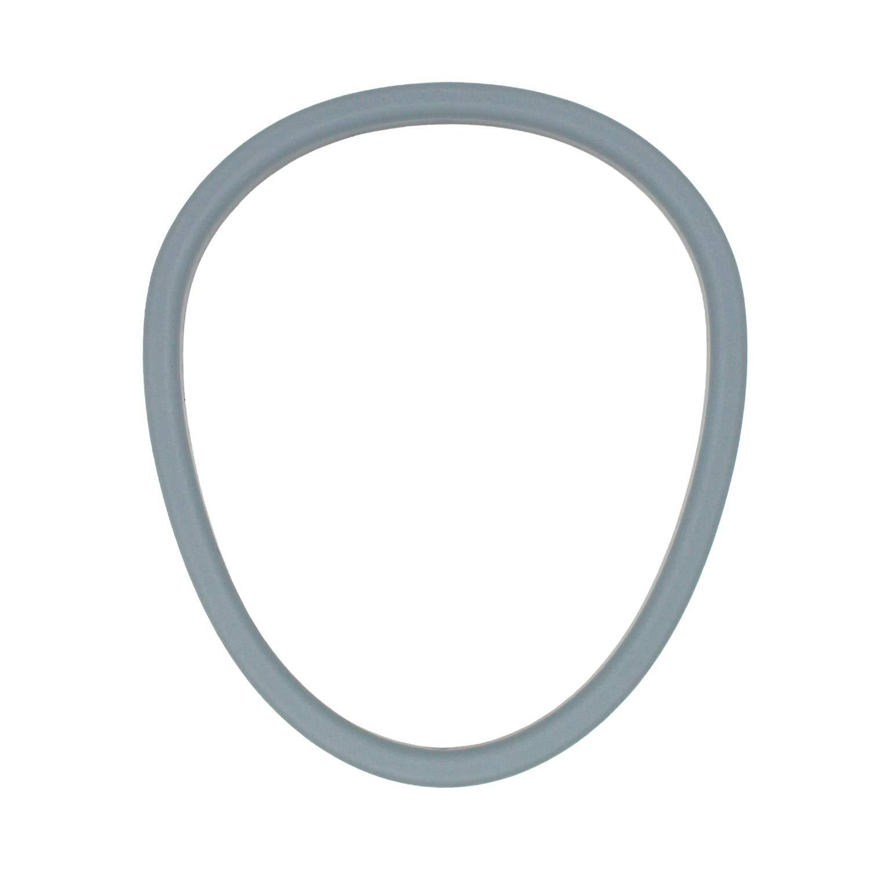 BLIKA Removable Plastic Ring for Folding Commode Portable Toilet Seat