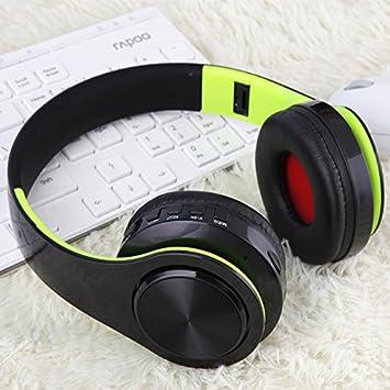 Amazon.com: JIAJIA Wireless Folding Sports Stereo Music ...