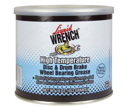 Liquid Wrench GR012 Disc and Drum Brake Wheel Bearing Grease - 16 oz. by Liquid Wrench