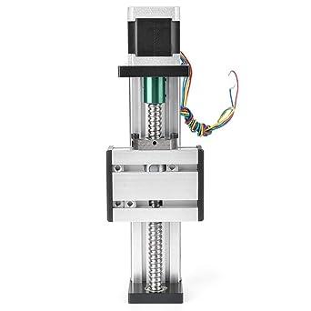 Actuador de guía lineal, rango de 200 mm CNC Guía lineal Carril ...