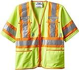 Viking Class 3 Hi-Vis Safety Vest, Green, Medium
