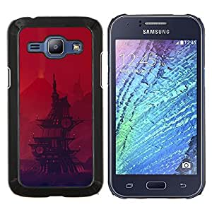 - Pirate Ship Cartoon For Samsung Galaxy J1 J100 J100H Duro Snap en el tel???¡¯???€????€?????fono celular de la cubierta @ Cat Family