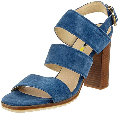 Con Sandalo Tacco 161m4505e Eu Manas Blu 41 qST5w5OB