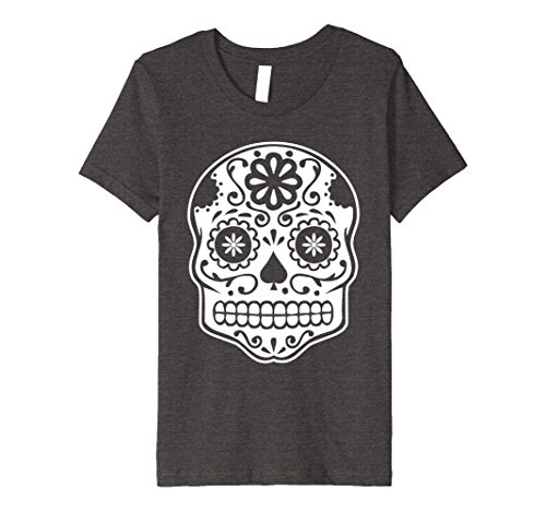 Costume Candy Halloween Sugar (Kids Sugar Skull - Day of the Dead T-Shirt | Souvenir Gift Shirt 4 Dark)