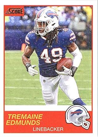 the latest 78cf1 680aa Amazon.com: 2019 Score #127 Tremaine Edmunds Bills NFL ...