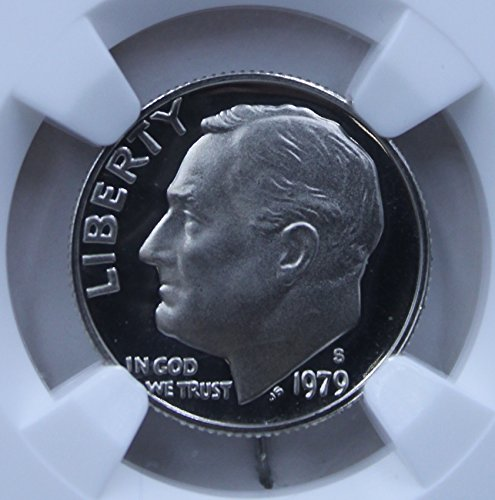 Ngc Slabbed - 1979 S 10C Type 2 Ultra Cameo Dime PF-69 NGC