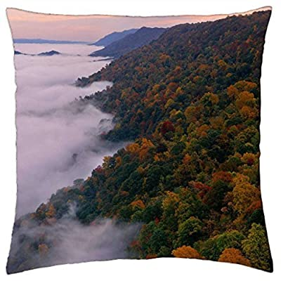 Kingdom Come State Park, Kentucky - Throw Pillow Cover Case (16