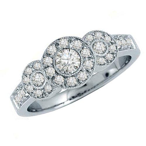 0.65 Ct Diamond Fashion - 3