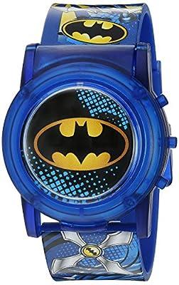 DC Comics Batman Boys LCD Pop Musical Watch (Model: BAT4405SR)