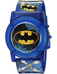 Batman Boys LCD Pop Musical Watch (Model: BAT4405SR)