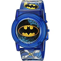 DC Comics Batman Niños LCD Pop Musical Reloj (Modelo: bat4405sr)