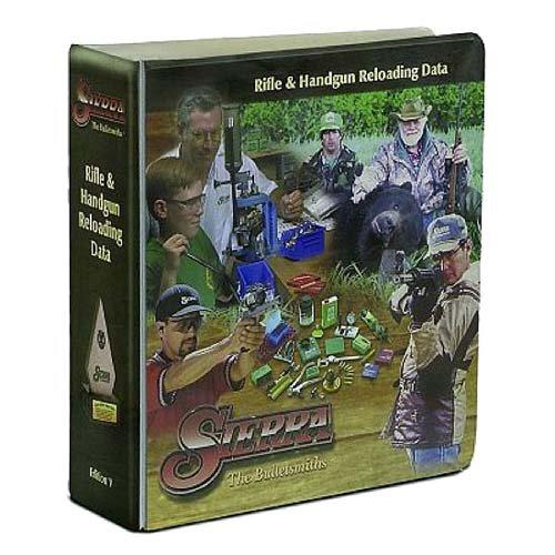 Sierra Bullets 5th Edition Manual with Infinity V7 CD (Sierra 5th Edition Rifle Handgun Reloading Manual)