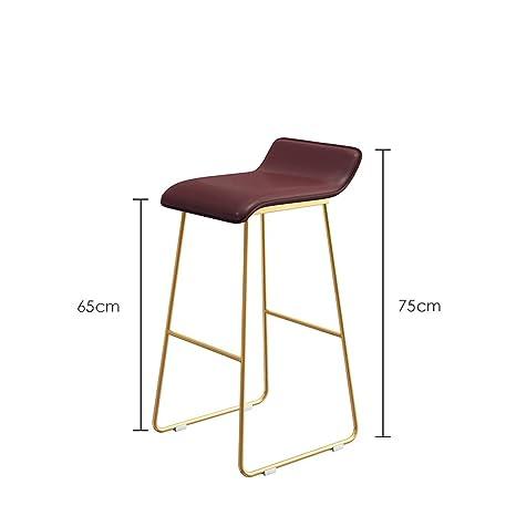 Outstanding Amazon Com Lklxj Bar Chair Kitchen Chair Rectangle Seat Inzonedesignstudio Interior Chair Design Inzonedesignstudiocom