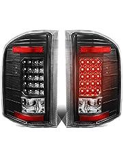DNA Motoring TL-CSIL07-LED-3D-CH-SM 3D LED Tail Light Assembly [07-13 Chevy Silverado]