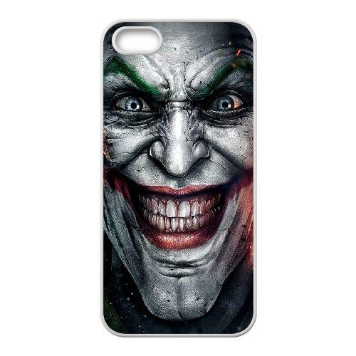 The Joker coque iPhone 4 4S cellulaire cas coque de téléphone cas blanche couverture de téléphone portable EOKXLLNCD20151