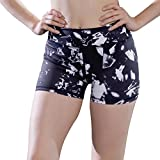 Yoga Running Workout Shorts with Ice Printed