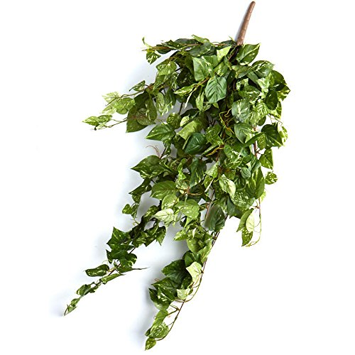 - Factory Direct Craft Variegated Artificial Pothos Leaf Ivy Bushes | 2 Bushes