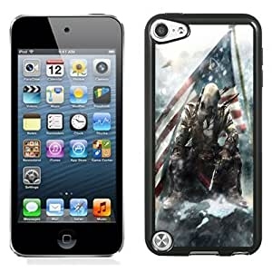 New Personalized Custom Designed For iPod Touch 5th Phone Case For Assassins Creed Connor Phone Case Cover