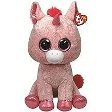 "TY Beanie Boo Large 16"" Plush Unicorn Rosey"